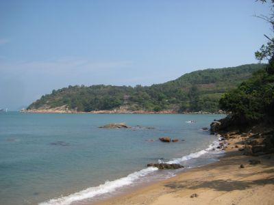 Beach on Lamma Island, Hong Kong