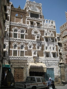 tower house in Sana'a