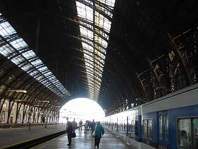 Photo of train station