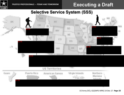 redacted slide from DOD briefing