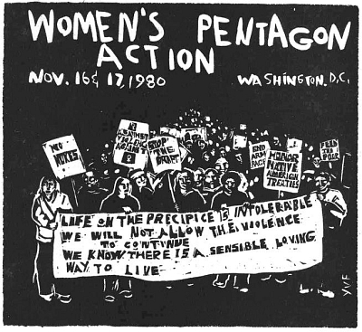 Women's Pentagon Action: Stop The Draft