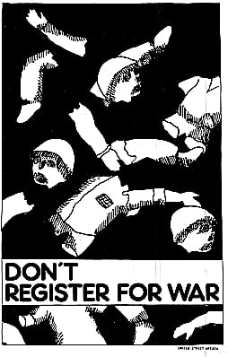 Don't Register For War