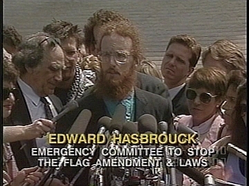 Edward Hasbrouck at the Supreme Court