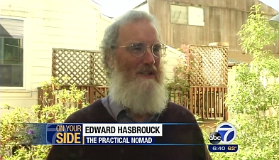 Edward Hasbrouck on ABC7 San Francisco
